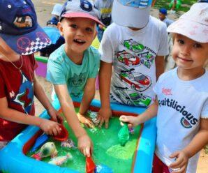 Игры с водой на прогулке в детском саду